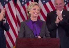 Hillary Clinton faz discurso após derrota para Donald Trump