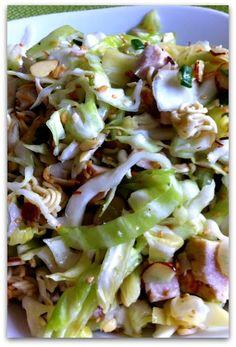 Ramen Chicken Salad