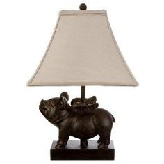 Flying pig chandelier yes please d when pigs fly flying pig lamp d aloadofball Images