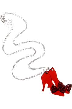 ruby slippers necklace by tatty devine