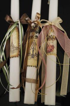 Φτιάξτε τα δικά σας διακοσμητικά κεριά και λαμπάδες με DECOUPAGE + 25 Ιδέες!   Φτιάξτο μόνος σου - Κατασκευές DIY - Do it yourself