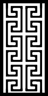Greek key stencil                                                                                                                                                                                 More