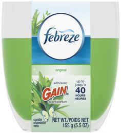 Introducing Febreze Candles Candle  Gain Original  55 oz  2 pk. Get Your Ladies Products Here and follow us for more updates!