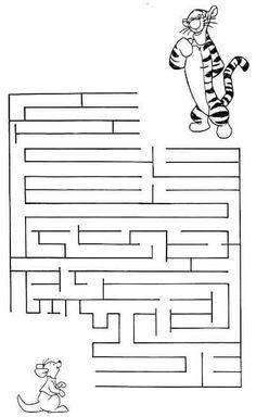 jeu du labyrinthe imprimer feladatlapok konzentrations bungen f r kinder. Black Bedroom Furniture Sets. Home Design Ideas