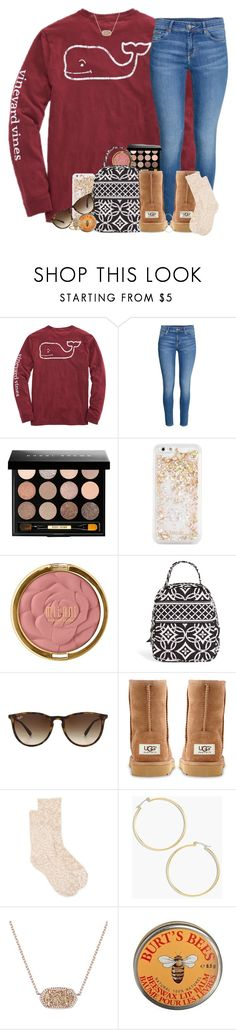"""Had a pretty fun day"" by southernstruttin ❤ liked on Polyvore featuring Bobbi Brown Cosmetics, ban.do, Milani, Vera Bradley, Ray-Ban, UGG Australia, New Directions, J.Crew, Kendra Scott and Burt's Bees"