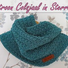 Unique and Creative Haakpatroon Colsjaal in Sterrensteek Haakpatroon Colsjaal in Sterrensteek In. Crochet Hood, Crochet Collar, Knit Crochet, Knitting Patterns Free Dog, Knitting Blogs, Crochet Shawls And Wraps, Knitted Shawls, Summer Knitting, Baby Knitting