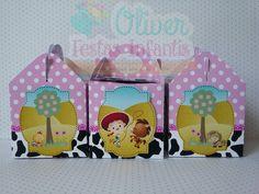 Caixa com Alça Jessie do Toy Story by Oliver Festas Infantis