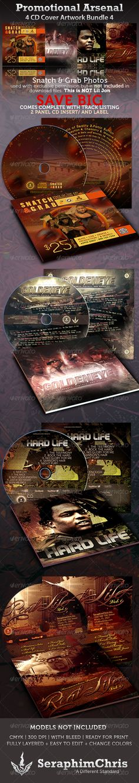 Promotional Arsenal CD Cover Artwork Bundle Vol.4 - $17.00