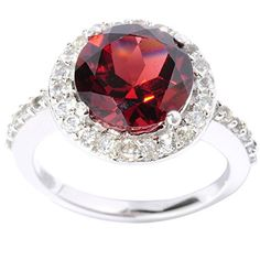V3 Jewelry Sterling Silver Round cut Garnet and White Topaz Halo Ring V3 Jewelry http://www.amazon.com/dp/B011RFIBVG/ref=cm_sw_r_pi_dp_e.hAwb1PR3X2Z