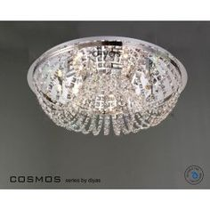 Diyas Cosmos 7 Light Flush Fitting. IL30044 - W.T.Lighting