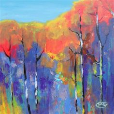 Woodlands Glory by Kip Decker | acrylic painting | Ugallery Online Art Gallery - love the colors