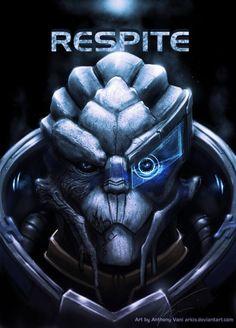 Gorgeous Mass Effect art.