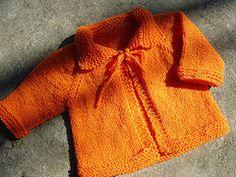 casaquinhos de bebe em trico passo a passo - Buscar con Google
