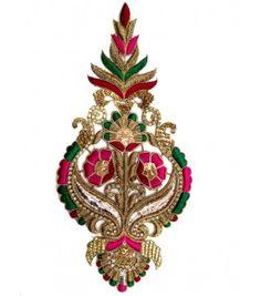 Super motifs design Indian Embroidery Designs, Zardozi Embroidery, Hand Embroidery Dress, Kurti Embroidery Design, Hand Embroidery Videos, Couture Embroidery, Embroidery Fashion, Hand Embroidery Patterns, Hand Work Blouse Design