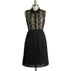 How Noir You? Dress (180 BRL) ❤ liked on Polyvore featuring dresses, vestidos, black, a-line, sleeveless, shirt dress, print, pleats, party and long
