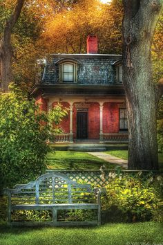 Image detail for -... Mike Savad - Autumn - House - The Estates Fine Art Prints and Posters