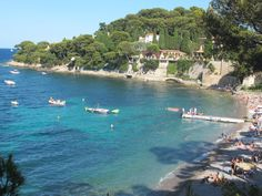 Paloma Beach in Saint-Jean-Cap-Ferrat, near Nice, is the perfect place if you want to spot a celebrity during your holidays. Angelina Jolie  Brad Pitt for example, love to spend some time here!