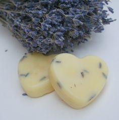 Lavender Solid Lotion Bar - Organic Natural All purpose moisturizer$7.00, via Etsy.