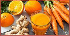 É isso que o gengibre e a cenoura juntos podem fazer por você!