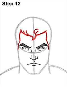 Superman Body Drawing 12 Superman Hair, Superman Drawing, Parts Of The Nose, Superman Costumes, Favorite Cartoon Character, Letter V, Body Drawing, Draw Your, Step By Step Drawing