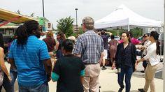 At the market Johns Hopkins, Key West, Farmers Market, Marketing, Key West Florida