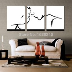 colorful abstract art - 3 piece wall decor Colorful abstract art Lovers wall art Black and white art Artwork For Living Room, Living Room Paint, Living Room Modern, Living Room Decor, Room Art, Living Rooms, Colorful Abstract Art, Abstract Wall Art, Painting Abstract