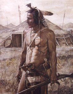 Mato-Tope , the Mandan Steven Lang kK Native American Paintings, Native American Pictures, Native American Artists, Native American History, Indian Paintings, Woodland Indians, Native American Warrior, American Indian Art, American Indians