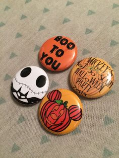 Perfect for your Halloween trip to Disney! These Disney pins are guaranteed to make you smile! Show your spooky side while you attend Mickeys