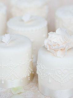 Ivory Mini Cakes