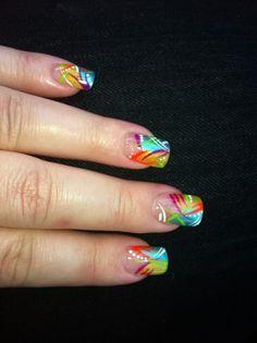 Nails - summer colors
