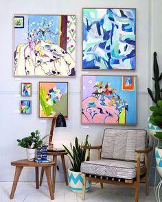 clic de ideias: {quadros, quadrinhos e quadrões} decorando by Virg...