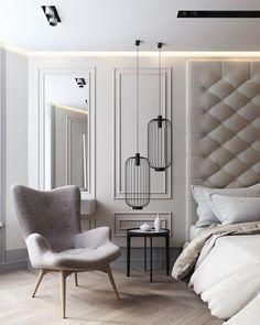 Best Bedroom Lamps in the best bedroom design decor! Bedroom Lighting with incredible Bedsite Table Lamps, Floor Lamps, Table Lamps, Wall Lights | www.delightfull.eu #InteriorDesign #HomeDecor
