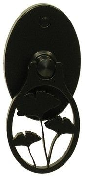 Contemporary Asian Ginkgo Gate Latch - contemporary - Pulls - 360 Yardware