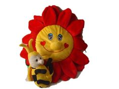 Baby Sherpa Safe2Go Child Safety Harness Backpack - Flower w/ Bee