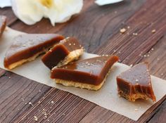 Salted Caramel Bars - 40 Homemade Holiday Food Gift Recipes  on HGTV