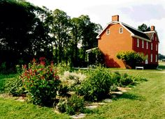 The Johnston Farm and Indian Agency in Piqua Ohio.