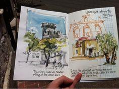 Liz Steel: Morning with sketchers...