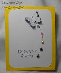 Nothin' Fancy: Stacked Butterflies Card