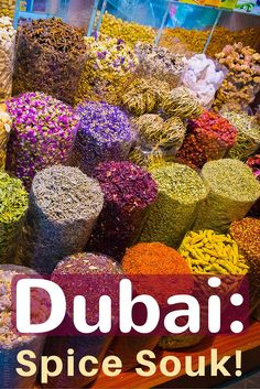 Dubai is a great place to travel, and the spice souk (market) is not to be missed! See tips and photos on visiting.