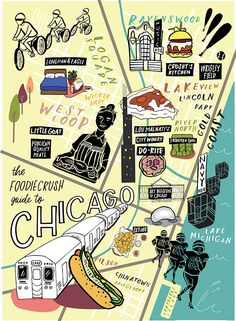 It's an eating town! Local Food Bloggers' Guide of Where to Eat in Chicago, IL | foodiecrush.com