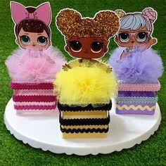 Best 11 L. Lol Doll Cake, 6th Birthday Parties, Surprise Birthday, Pot A Crayon, Cinderella Birthday, Doll Party, Lol Dolls, Birthday Party Centerpieces, Party Printables