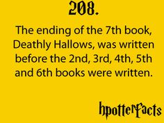 Harry Potter Facts #208: