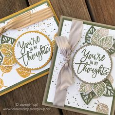 #thoughtfulbranches by Stampin' Up! www.bonniestamp.stampinup.net
