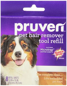 Pruven 849P-RF-8 3.8 by 7.6-Inch Pet Hair Remover Tool Refill with 8-Sheet * Check out the image by visiting the link. (This is an affiliate link and I receive a commission for the sales)