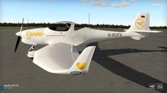 Aquila A211 with Garmin G500 and Condor Livery