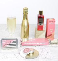 Prosecco Themed Relax Pamper Hamper - gift sets