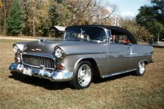1955 CHEVROLET BEL AIR CUSTOM CONVERTIBLE..Re-Pin Brought to you by #CarInsurance Agents at #HouseofInsurance in Eugene