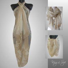 Pareo D9 Schal Strandkleid Strandrock Strandtuch Kleid Scarf Beach Panties