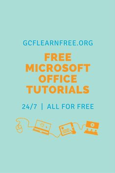 Who's excited about learning #Excel2016? We know we are! The GCFLearnFree.org team is hard at work developing the tutorial, which we'll announce here once it's ready (hint: It'll be soon!). In the meantime, check out all of the other Office tutorials we have available!