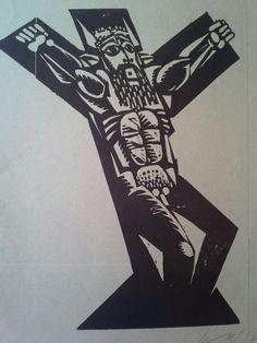 Kass János (1927-2010) Linómetszet Mihály Gyűjtemény Ex Libris, Paintings, Character, Art, Art Background, Paint, Painting Art, Kunst, Performing Arts